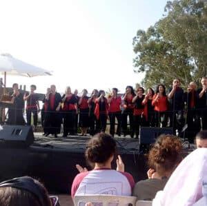 לה הגולן- כנס חבורות זמר בצנובר